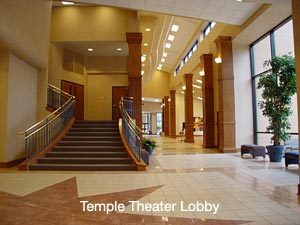 Temple Theater Lobby