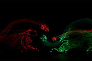 Dino-Light Light Show